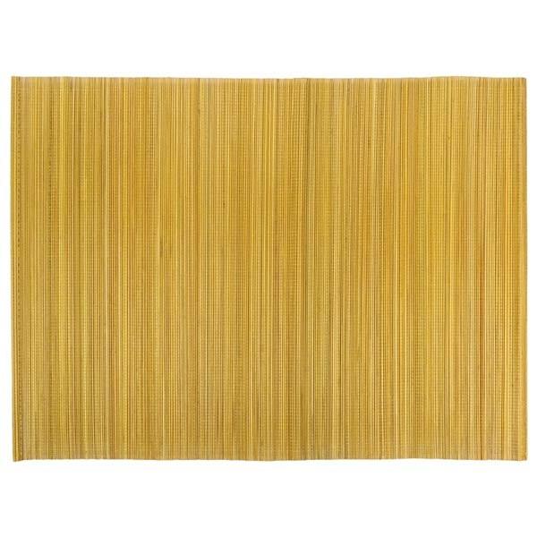 S 2 Tischset Gold 33x47cm Bambus Contigo