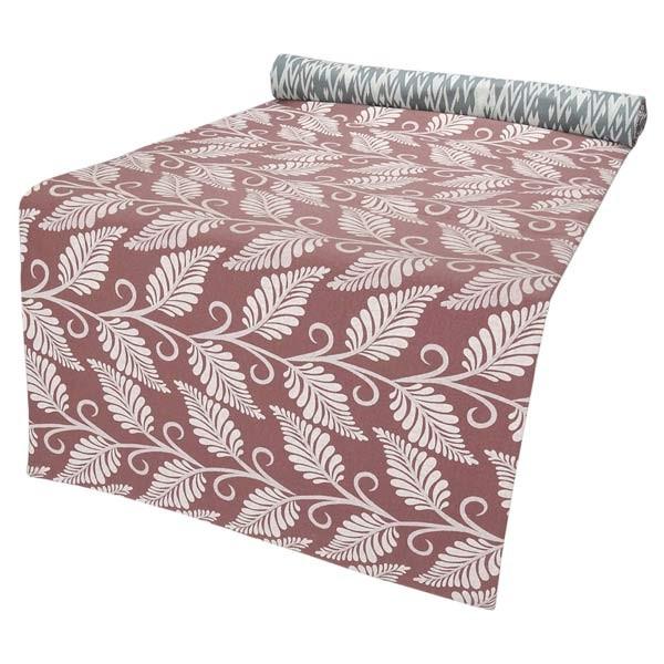 tischl ufer farn 150x40cm zum wenden baumwolle contigo. Black Bedroom Furniture Sets. Home Design Ideas